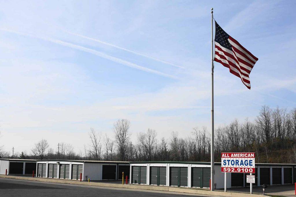 Bellefontaine, All American Storage, Ohio