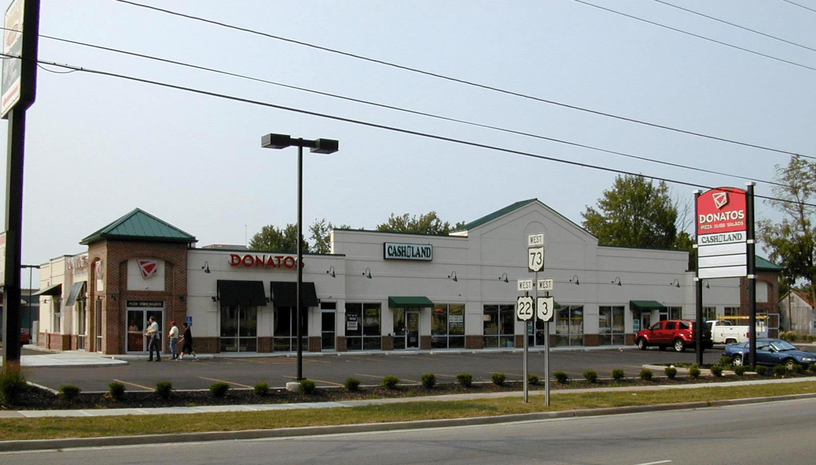 Donato's Shopping Center in Wilmington, Ohio